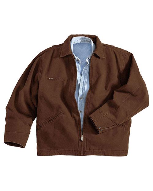 Tri-Mountain 4300 Men Oakland Cotton Canvas Work Jacket at GotApparel
