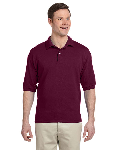 Jerzees 438 Men 50/50 Pique Polo With Spotshield at GotApparel