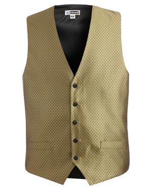 Edwards 4390 Men Diamond Brocade Vest at GotApparel