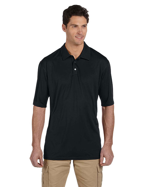Jerzees 441M Men 4.1 oz., 100% Polyester Micro Pointelle Mesh SPORT with Moisture Wicking Polo at GotApparel