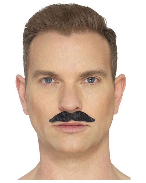 Smiffys 44700 Men The Professional Moustache, Black at GotApparel