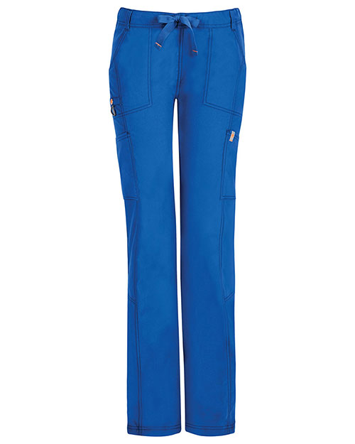 Code Happy 46000ABP Women Low Rise Straight Leg Drawstring Pant Petite at GotApparel