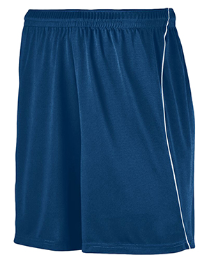 Augusta 461 Boys Wicking Soccer Short With Piping at GotApparel