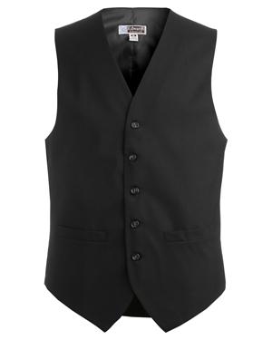 Edwards 4680 Men High Button Wool Blend Dress Vest at GotApparel