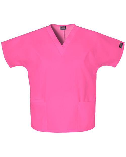 Cherokee Workwear 4700 Women V-Neck Top at GotApparel