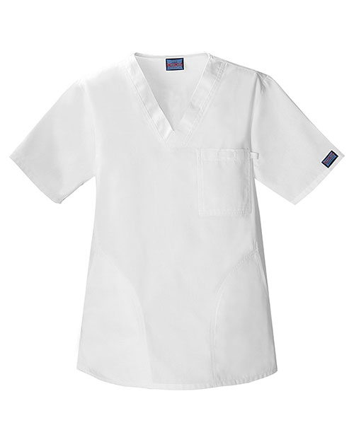 Cherokee Workwear 4780 Unisex V-Neck Top at GotApparel