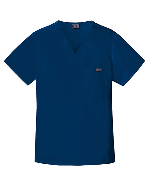Cherokee Workwear 4789 Men V-Neck Top at GotApparel