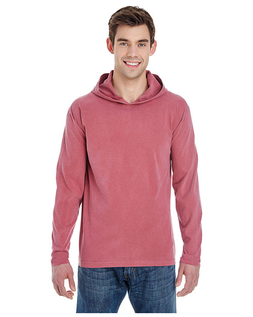 Comfort Colors 4900 Adult Long-Sleeve Hooded T-Shirt at GotApparel
