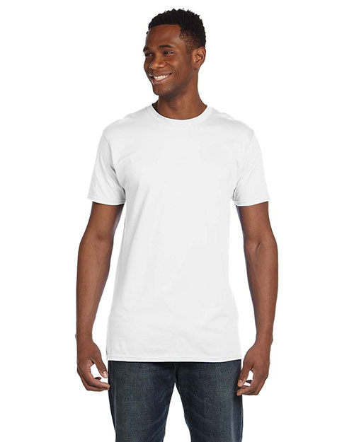 Hanes 4980 Men 4.5 Oz. 100% Ringspun Cotton Nano-T  T-Shirt at GotApparel