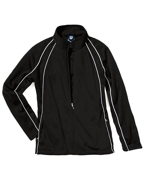 Charles River Apparel 4984 Girls Olympian Jacket at GotApparel