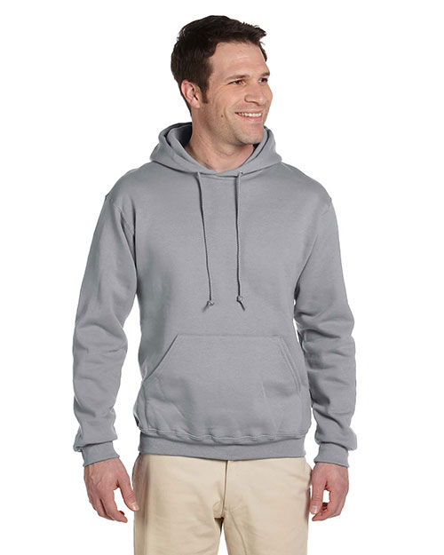 Jerzees 4997 Men 9.5 Oz. 50/50 Super Sweats Nublend Fleece Pullover Hood at GotApparel