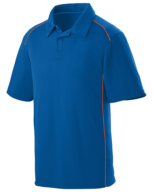 Augusta 5091 Men Winning Streak Coaching Polo Sport Shirt at GotApparel