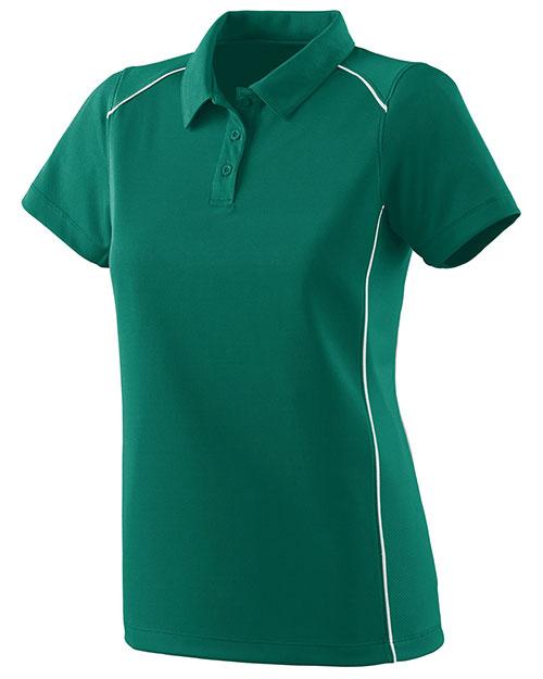 Augusta 5092 Women Winning Streak Coaching Sport Polo Shirt at GotApparel