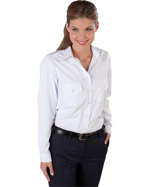 Edwards 5262 Women Long-Sleeve Navigator Shirt at GotApparel