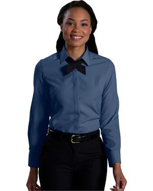 Edwards 5291 Women Long-Sleeve Batiste Cafe Blouse at GotApparel