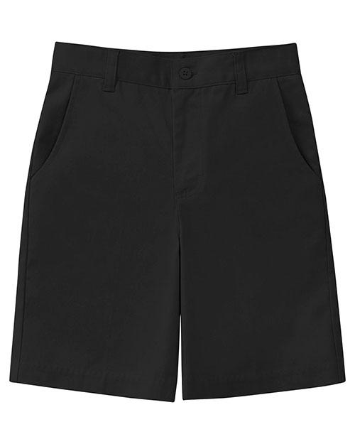 52941AZ Girls Sretch Flat Front Short at GotApparel