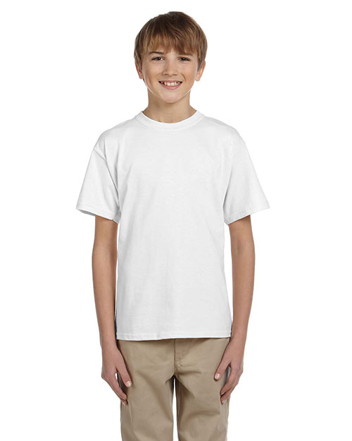 Hanes 5370 Boys 50/50 Comfort Blend Eco Smart T-Shirt at GotApparel