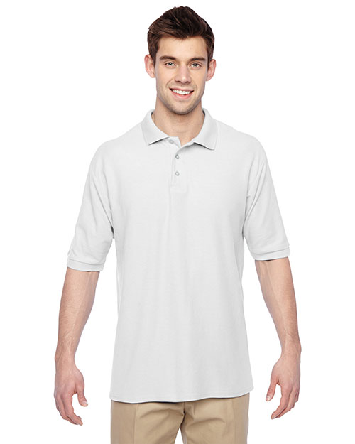 Jerzees 537MSR Men 5.3 Oz. 65/35 Easy Care Polo at GotApparel