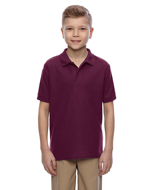 Jerzees 537YR Boys Easy Care Short-Sleeve Polo at GotApparel