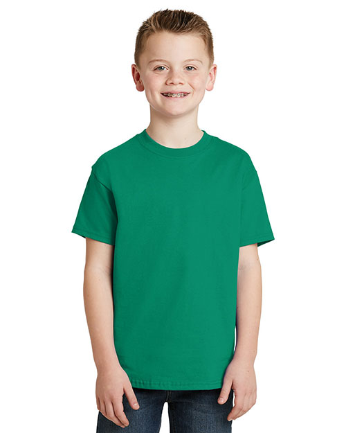 Hanes 5450 Boys 6 oz Tagless Short Sleeve T-Shirt at GotApparel