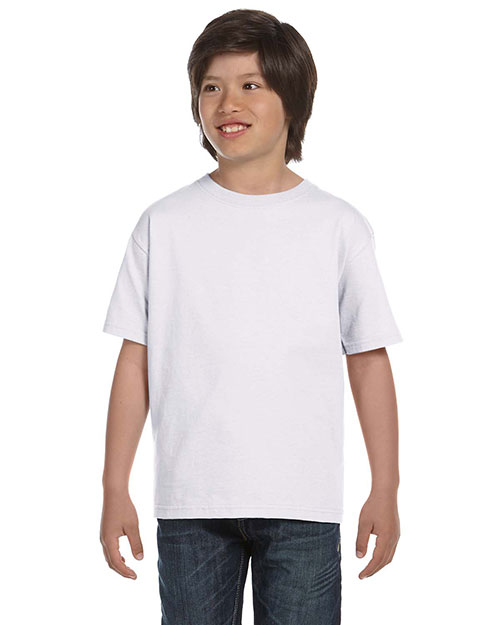 Hanes 5480 Boys 5.2 Oz. Comfort Soft Cotton T-Shirt at GotApparel