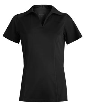 Edwards 5516 Women Micro Pique Polo With Self Collar at GotApparel