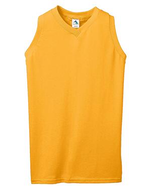 Augusta 556 Women Sleeveless V-Neck Shirt at GotApparel