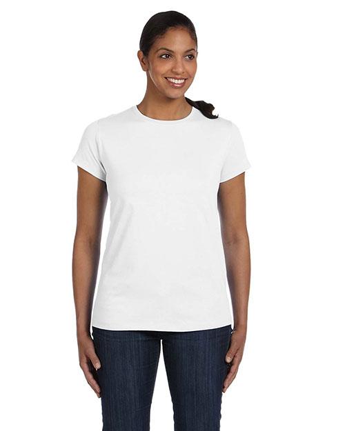 Hanes 5680 Women 5.2 Oz. Comfort Soft Cotton T-Shirt at GotApparel