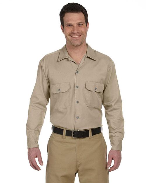 Dickies Workwear 574 Men Long-Sleeve Work Shirt at GotApparel