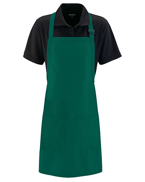 Augusta 5965 Unisex Full Width Apron With Pockets at GotApparel