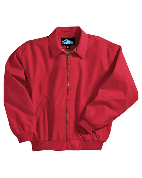 Tri-Mountain 6000 Men Achiever Microfiber Jacket With Poplin Lining at GotApparel
