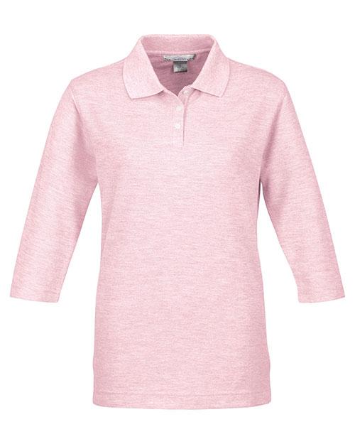 Tri-Mountain 601 Women Aurora Pique Golf Shirt at GotApparel