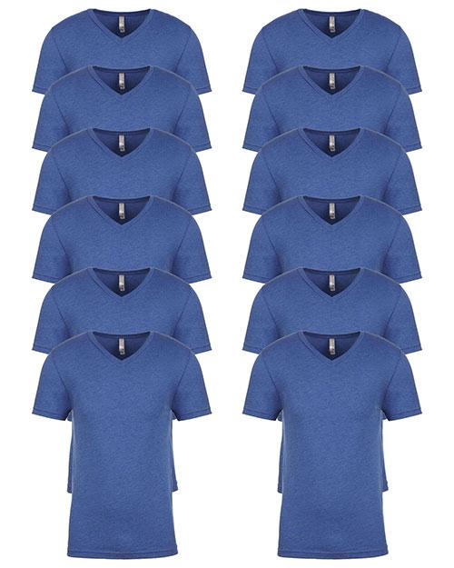 Next Level 6040 Men Tri-Blend V-Neck 12-Pack at GotApparel