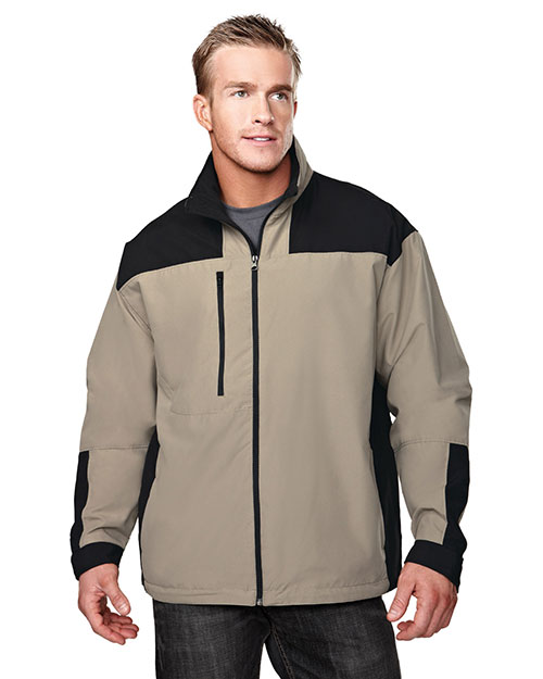 Tri-Mountain 6050 Men Harbor Microfiber Jacket With Mesh Lining at GotApparel