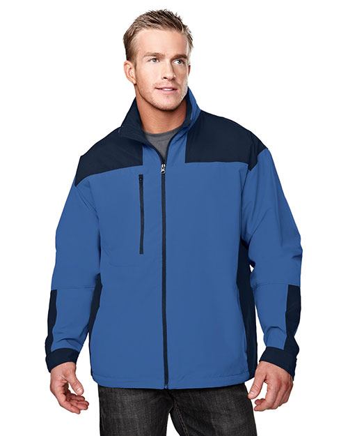 Tri-Mountain 6050 Men Harbor Microfiber Jacket With Mesh Lining at GotApparel