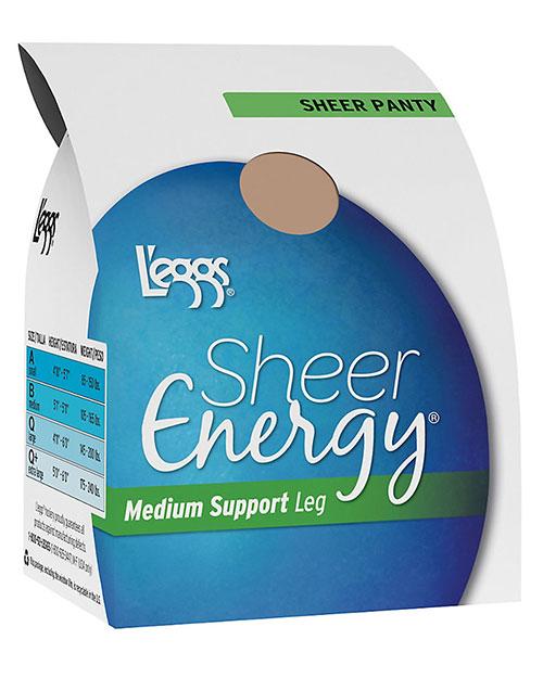 Leggs 60800 Sheer Energy All Pantyhose at GotApparel
