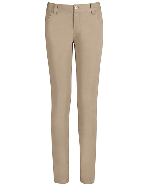 Real School Uniforms 61332A Girls 5-Pocket Stretch Skinny Pant  at GotApparel