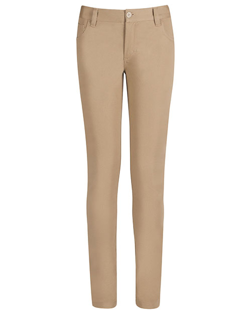 Real School Uniforms 61334 Women S 5-Pocket Stretch Skinny Pant at GotApparel