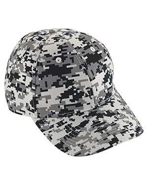 Augusta 6208 Unisex Digi Camo Cotton Twill Cap at GotApparel