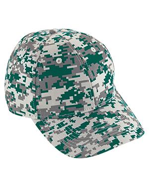Augusta 6208 Unisex Digi Camo Cotton Twill Cap at GotApparel