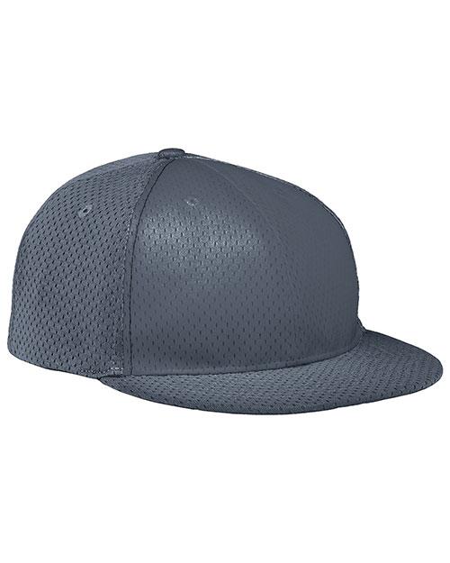 Augusta 6255 Men Athletic Mesh Flat Bill Baseball Cap at GotApparel