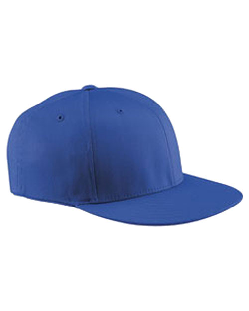 Yupoong 6297F Unisex Wooly Twill Pro Baseball On Field Shape Cap With Flat Bill at GotApparel