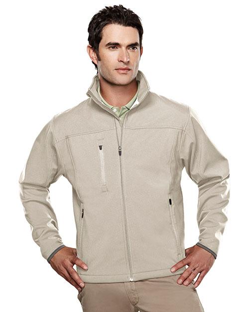 TM Performance 6400 Men's Stretch Bonded Soft Shell Jacket at GotApparel