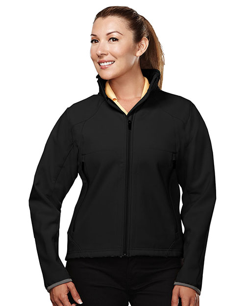 TM Performance 6420 Women's Stretch Soft Shell Jacket at GotApparel