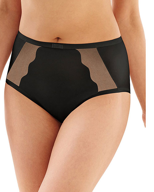 Bali 6571 Women Sheer Sleek Desire Brief at GotApparel