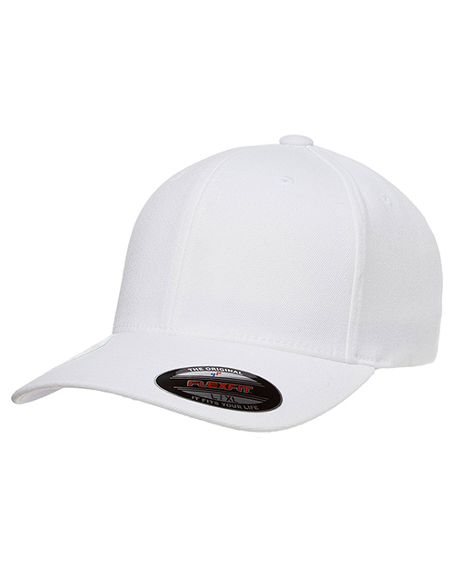 Yupoong 6580 Flexfit Performance WoolLike Poly Cap at GotApparel