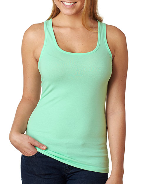 Next Level 6633 Women The Jersey Racerback Tank at GotApparel