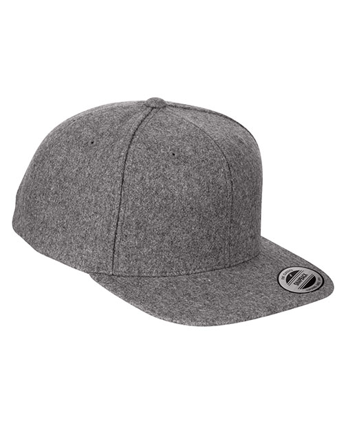 Yupoong 6689 Unisex Melton Wool Adjustable Cap at GotApparel