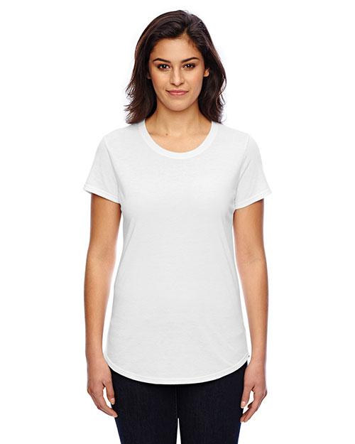 Anvil 6750L Women Tri-Blend Scoop Neck T-Shirt at GotApparel