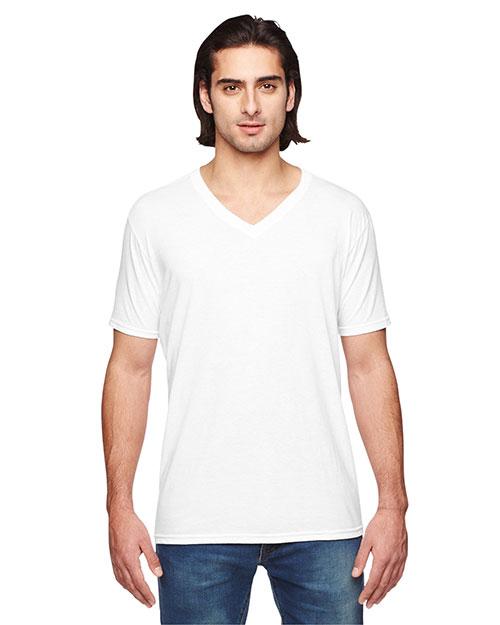 Anvil 6752 Unisex Tri-Blend V-Neck T-Shirt at GotApparel